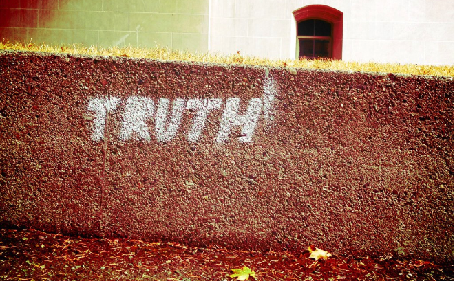 """When I was young my mama use to tell me… """"The Truth shall set you free…"""""""