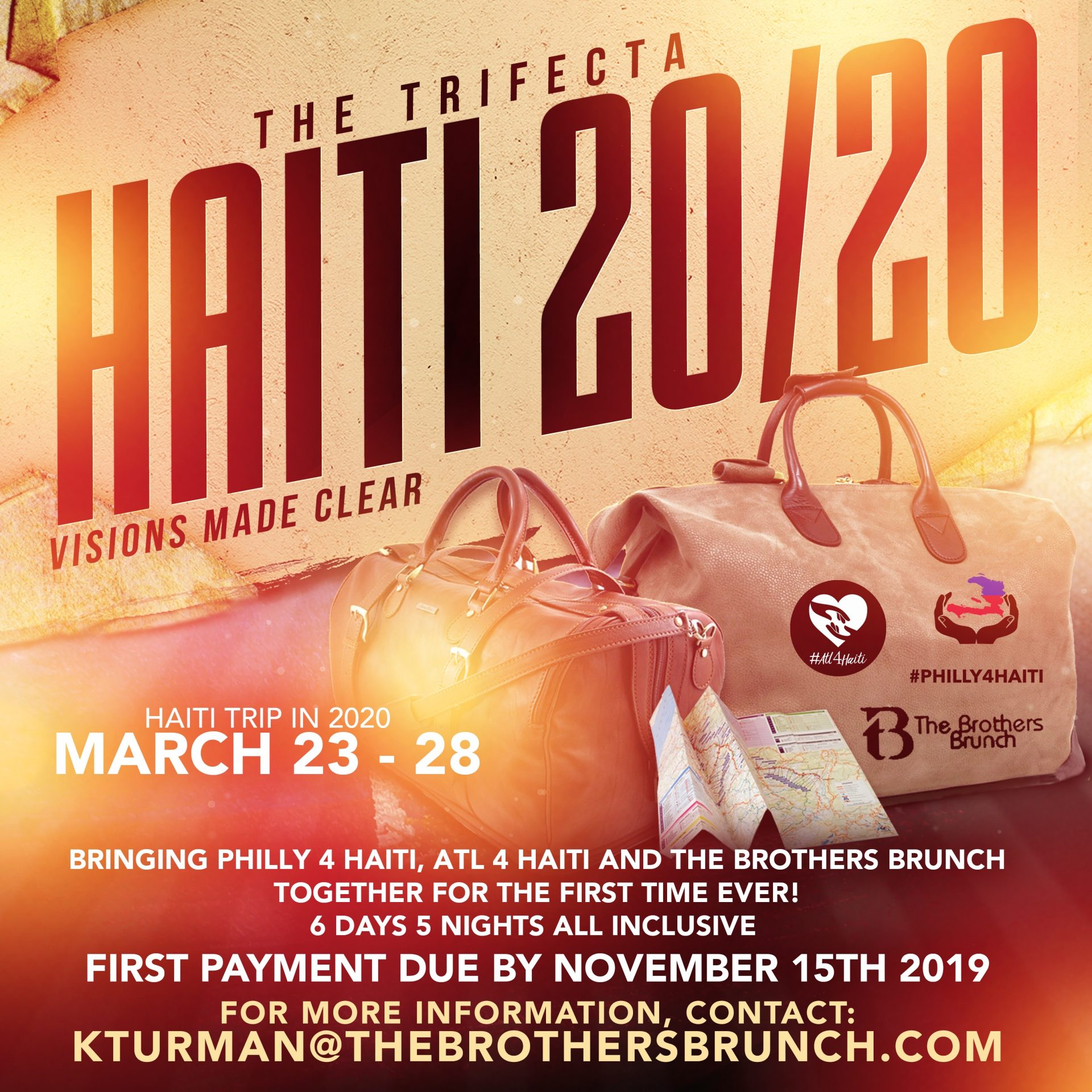The Trifecta Haiti 20/20 Flyer